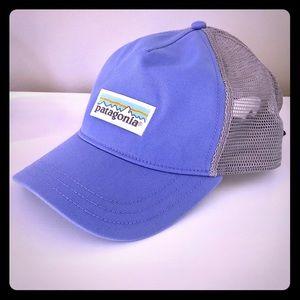 Patagonia Women's lavender trucker hat